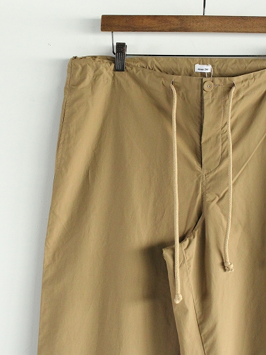 eleven 2nd Fine Cotton Nylon Wide Pants_b0139281_14233175.jpg
