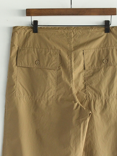 eleven 2nd Fine Cotton Nylon Wide Pants_b0139281_14234118.jpg