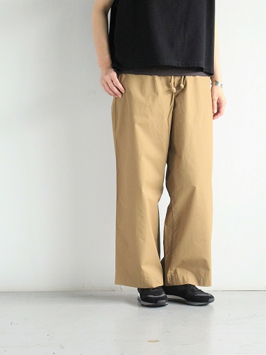 eleven 2nd Fine Cotton Nylon Wide Pants_b0139281_14241358.jpg