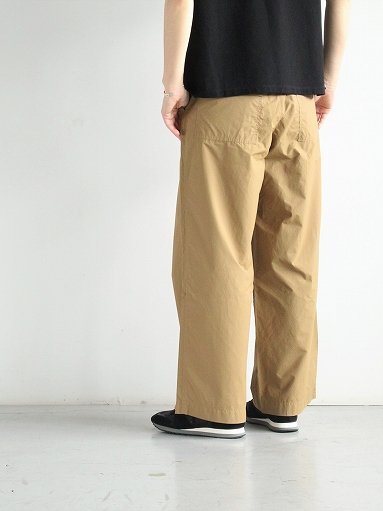 eleven 2nd Fine Cotton Nylon Wide Pants_b0139281_14242563.jpg