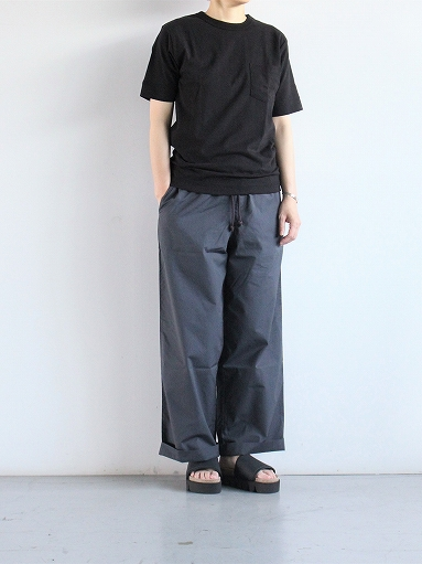 eleven 2nd Fine Cotton Poplin Wide Pants_b0139281_15102089.jpg
