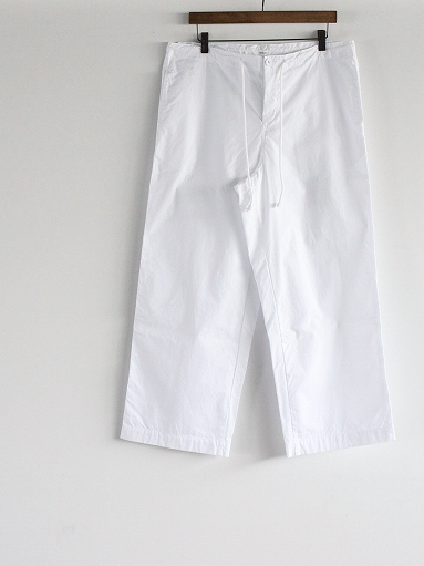 eleven 2nd Fine Cotton Poplin Wide Pants_b0139281_1572130.jpg