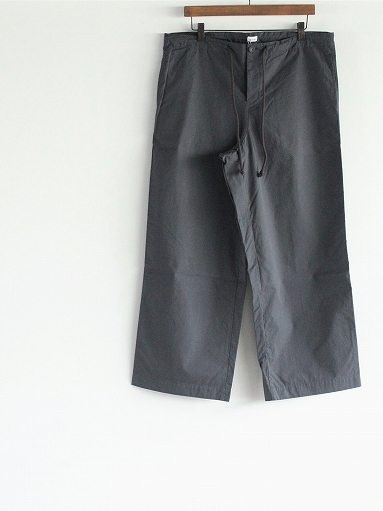 eleven 2nd Fine Cotton Poplin Wide Pants_b0139281_1573017.jpg
