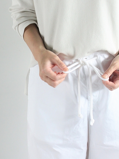 eleven 2nd Fine Cotton Poplin Wide Pants_b0139281_1582889.jpg