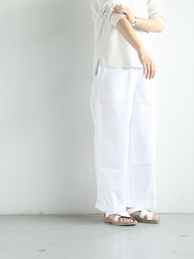 eleven 2nd Fine Cotton Poplin Wide Pants_b0139281_1583822.jpg