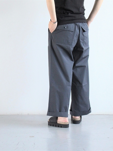 eleven 2nd Fine Cotton Poplin Wide Pants_b0139281_1591897.jpg
