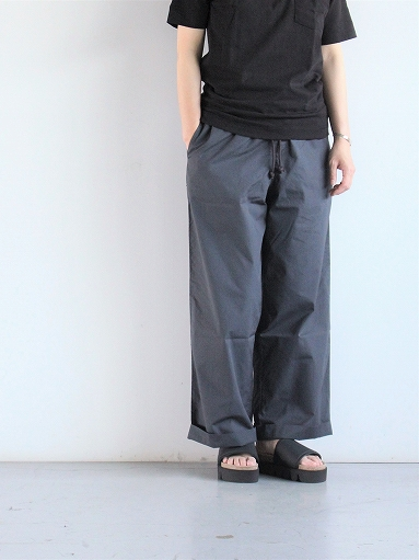 eleven 2nd Fine Cotton Poplin Wide Pants_b0139281_159898.jpg