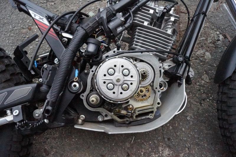 新製品 Sherco(Scorpa)TY125Classic/TY125-4T GasGasランドネ Yamaha XTZ125/YBR125 BetaRR4T125等用クラッチスプリングリテーナー_c0174330_00440000.jpeg