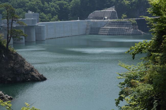 水を湛えた八ッ場ダムと沈んだ風景 #1 _a0357206_21340796.jpg