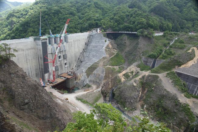 水を湛えた八ッ場ダムと沈んだ風景 #1 _a0357206_21403738.jpg