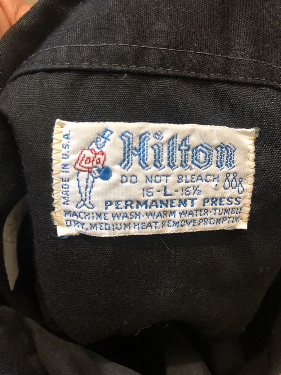 6/6(日)入荷! 70s HILTON BOWLING SHIRTS ボーリングシャツ!_c0144020_13033723.jpg