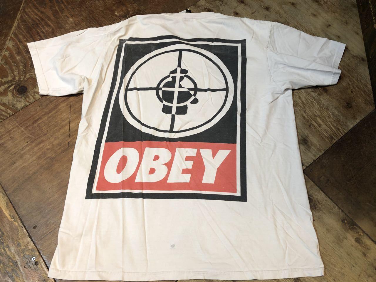 6月6日(日)入荷! MADE IN U.S.A OBEY PUBLIC ENEMY Tシャツ!_c0144020_13163673.jpg