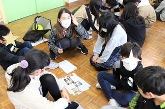 新潟市立五十嵐小学校においてワークショップを行いました_c0167632_13104719.jpg