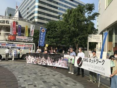 六四天安門事件抗議集会(有楽町)_c0323257_01332733.jpg