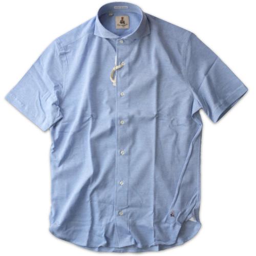 GUY ROVER ギ・ローバー 鹿の子ジャージーシャツ PC190 501503_c0118375_18455712.jpeg