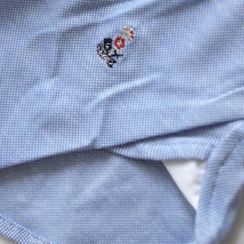 GUY ROVER ギ・ローバー 鹿の子ジャージーシャツ PC190 501503_c0118375_18460951.jpeg