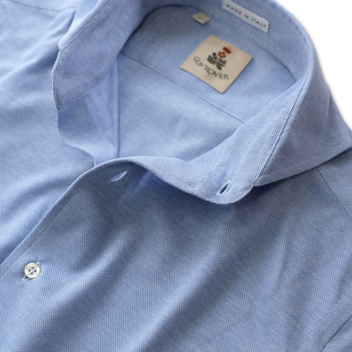 GUY ROVER ギ・ローバー 鹿の子ジャージーシャツ PC190 501503_c0118375_18462010.jpeg