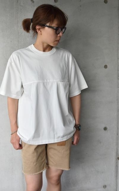 SAGE DE CRET   WHITE Pocket TEE★_d0152280_13340209.jpg
