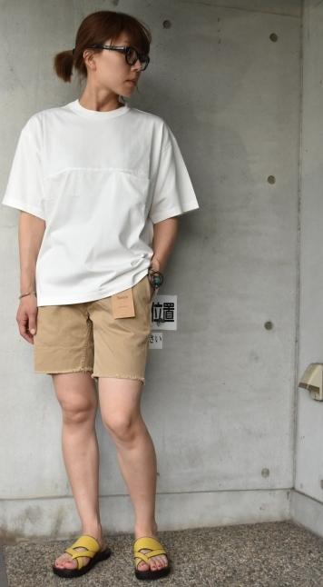 SAGE DE CRET   WHITE Pocket TEE★_d0152280_13350777.jpg