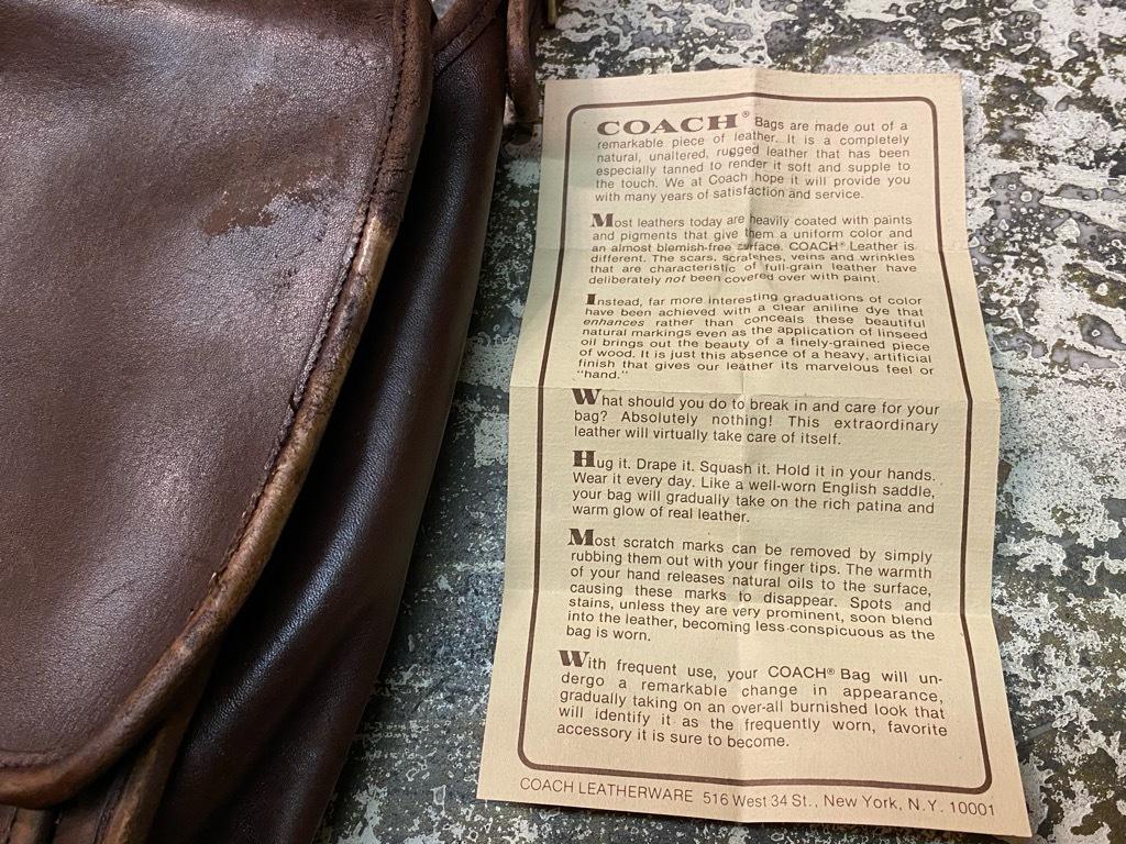 6月6日(土)マグネッツ大阪店スーペリア入荷日!#5 Leather編! Coach,Shoes,Belt & RealFurMat!!_c0078587_15405447.jpg