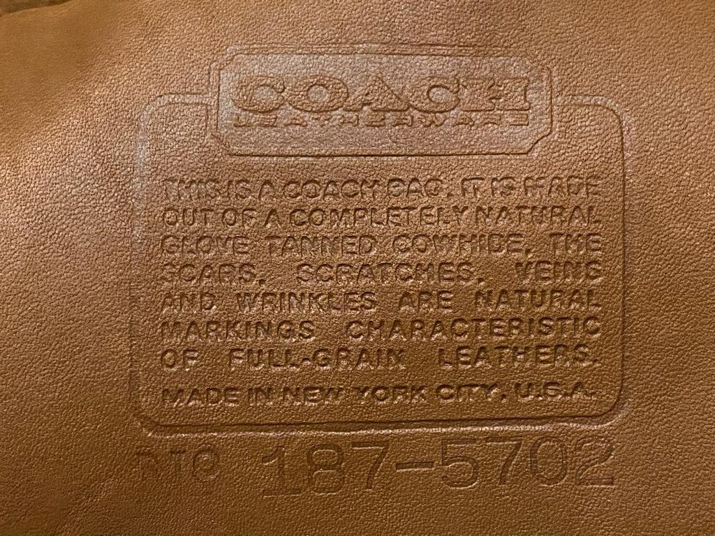 6月6日(土)マグネッツ大阪店スーペリア入荷日!#5 Leather編! Coach,Shoes,Belt & RealFurMat!!_c0078587_15420889.jpg