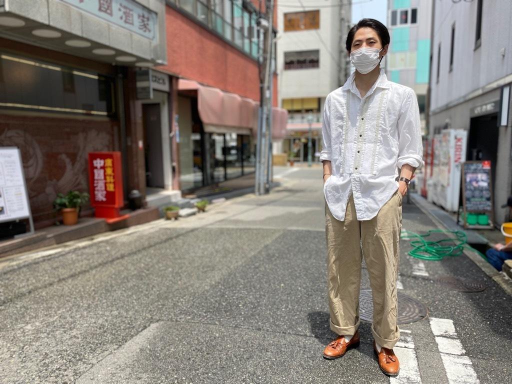 マグネッツ神戸店 白シャツも様々。_c0078587_15474555.jpg