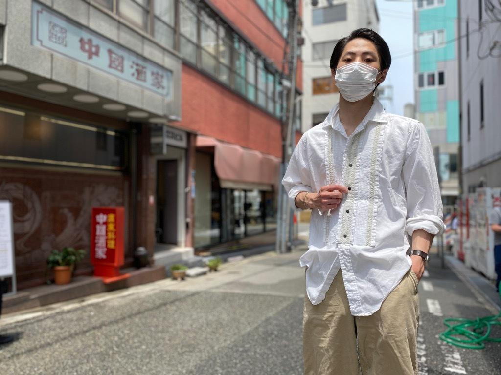 マグネッツ神戸店 白シャツも様々。_c0078587_15474603.jpg