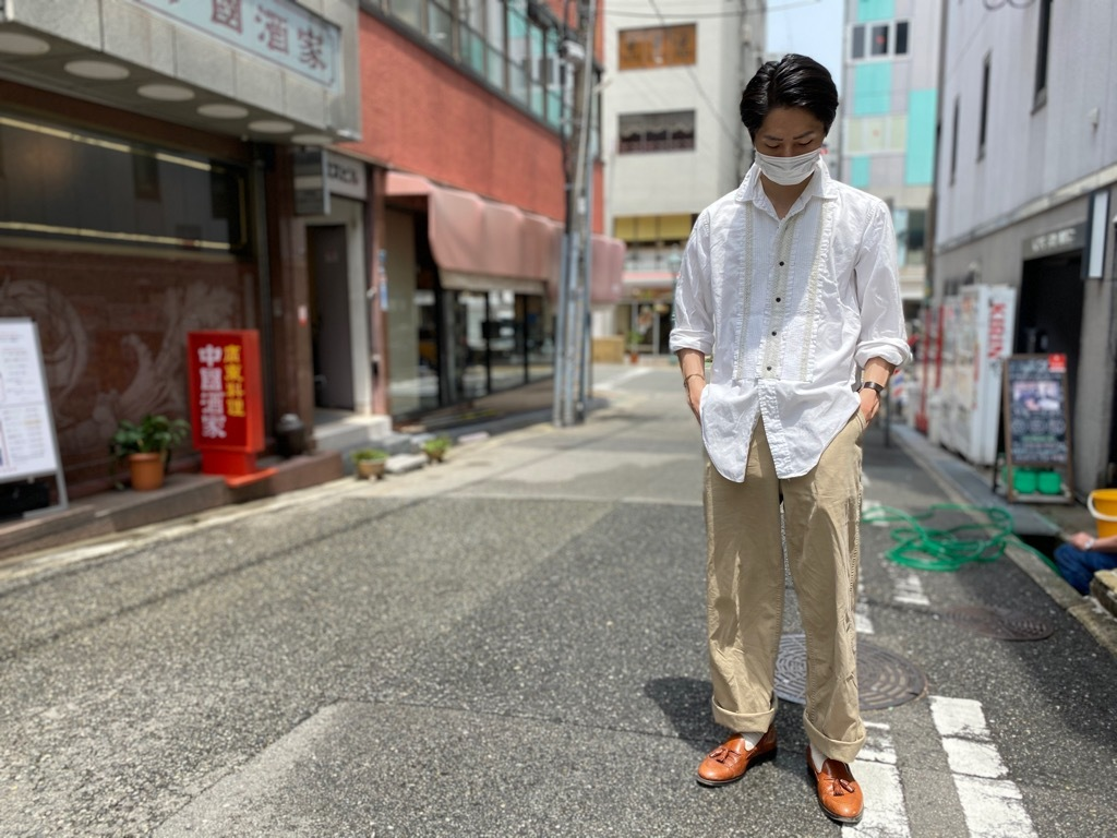 マグネッツ神戸店 白シャツも様々。_c0078587_15474627.jpg