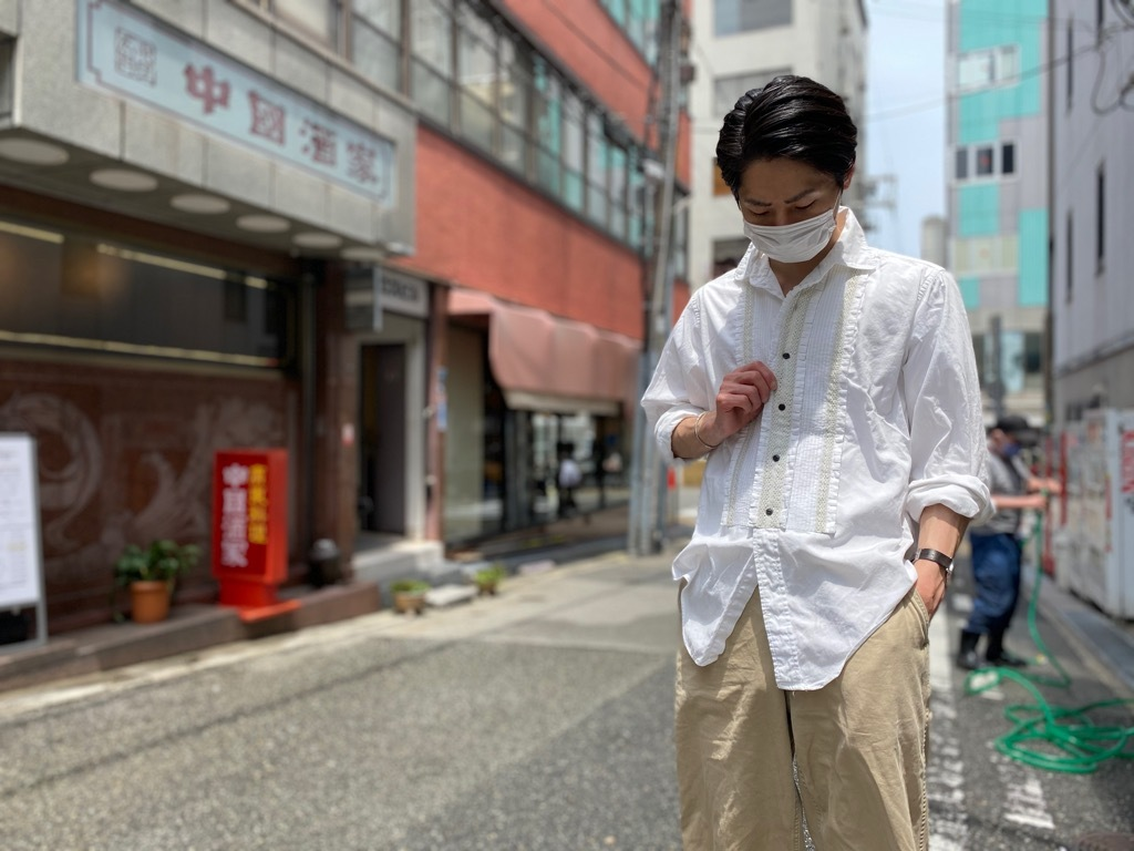 マグネッツ神戸店 白シャツも様々。_c0078587_15474644.jpg