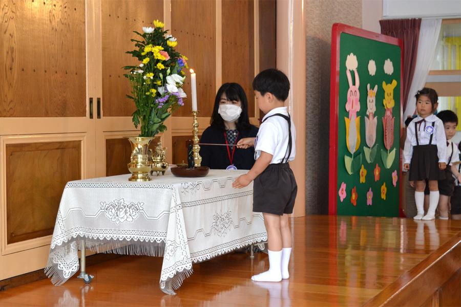 上宮第一幼稚園「花まつり」_d0353789_14284523.jpg