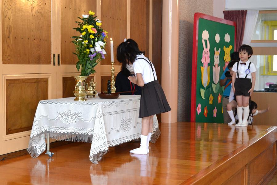上宮第一幼稚園「花まつり」_d0353789_14285397.jpg
