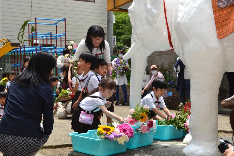 上宮第一幼稚園「花まつり」_d0353789_14290462.jpg