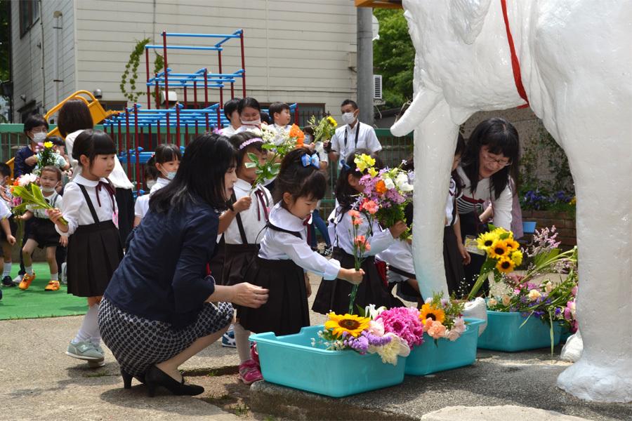 上宮第一幼稚園「花まつり」_d0353789_14291305.jpg