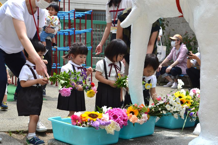 上宮第一幼稚園「花まつり」_d0353789_14292146.jpg
