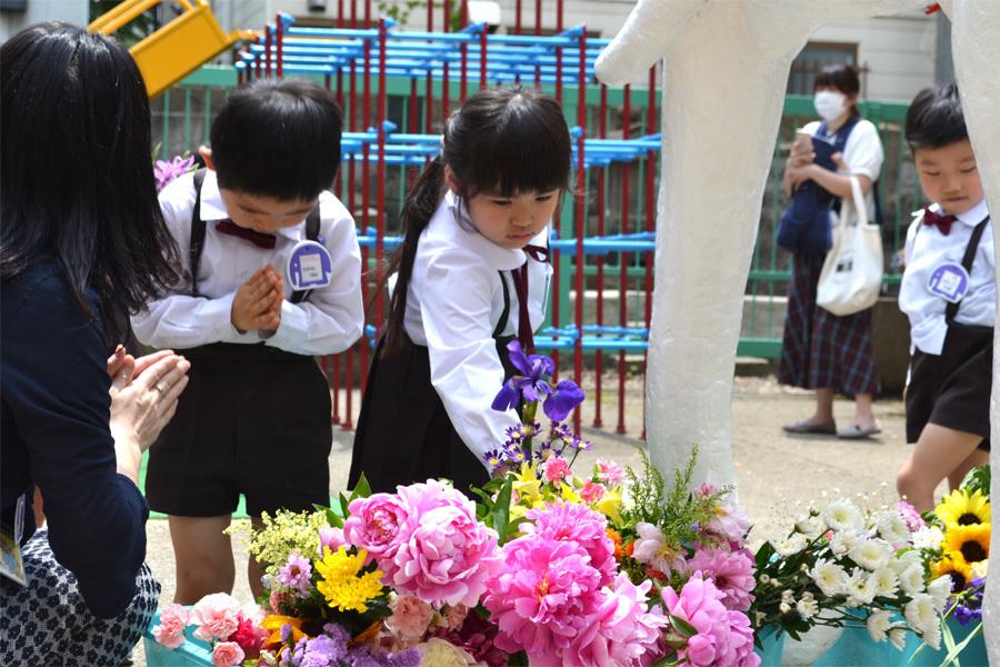 上宮第一幼稚園「花まつり」_d0353789_14293147.jpg