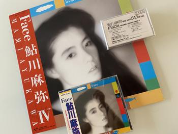 Album「Face」の見本品カセットテープが! 34年の刻をこえて!(^^)_c0118528_18085191.jpg