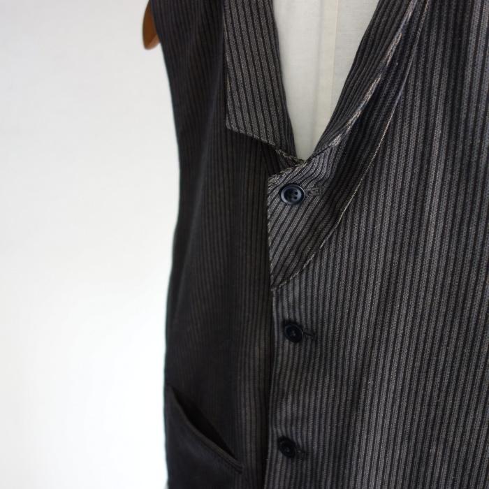 8月の製作 / DA classic stripe waistcoat_e0130546_13415140.jpg