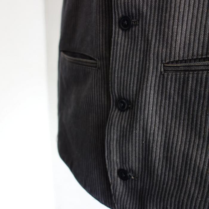 8月の製作 / DA classic stripe waistcoat_e0130546_13420616.jpg