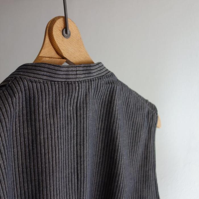 8月の製作 / DA classic stripe waistcoat_e0130546_13432338.jpg
