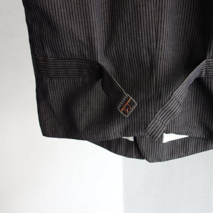 8月の製作 / DA classic stripe waistcoat_e0130546_13440597.jpg