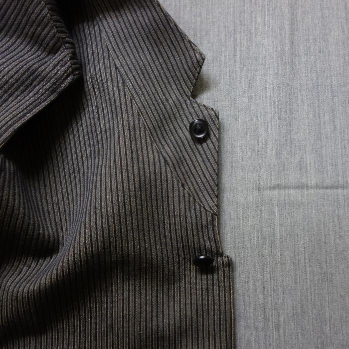 8月の製作 / DA classic stripe waistcoat_e0130546_13460970.jpg