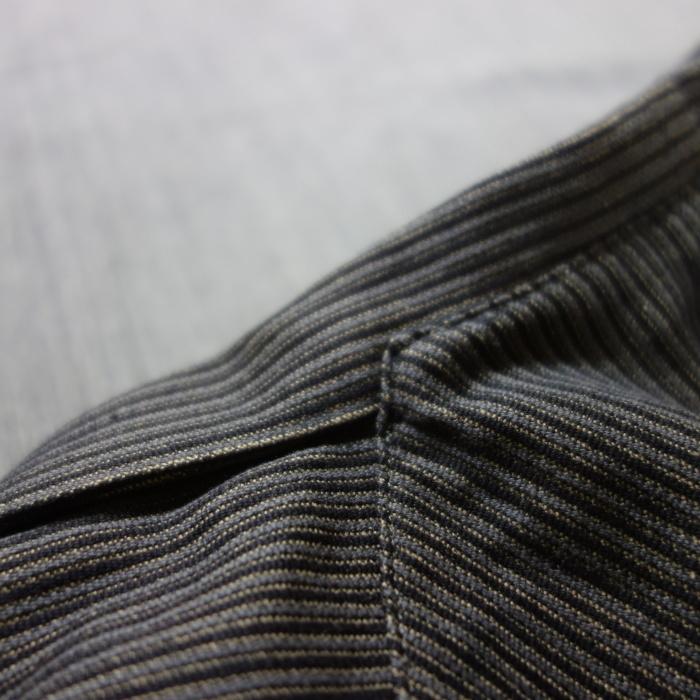 8月の製作 / DA classic stripe waistcoat_e0130546_13462688.jpg