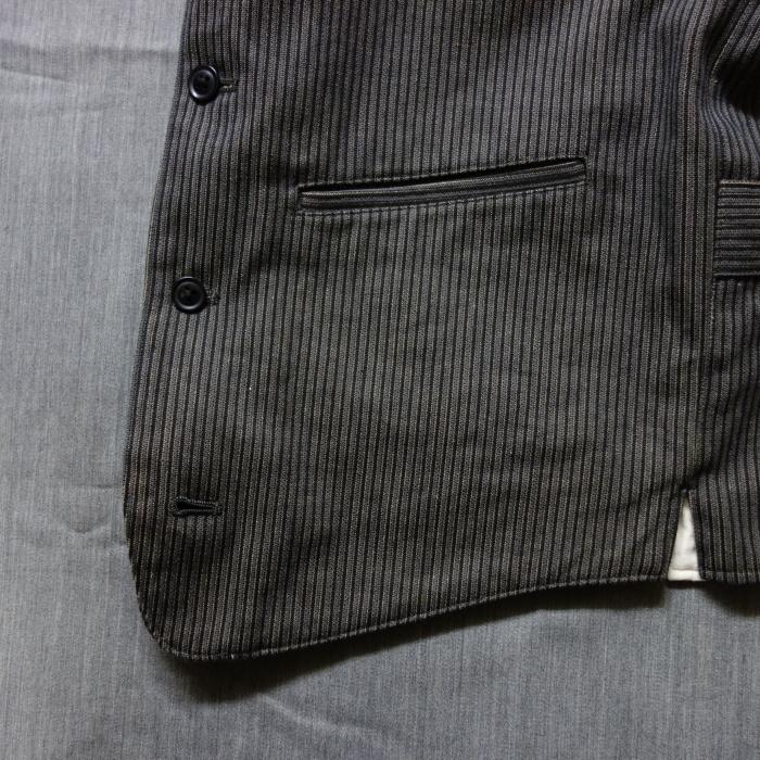 8月の製作 / DA classic stripe waistcoat_e0130546_13464187.jpg