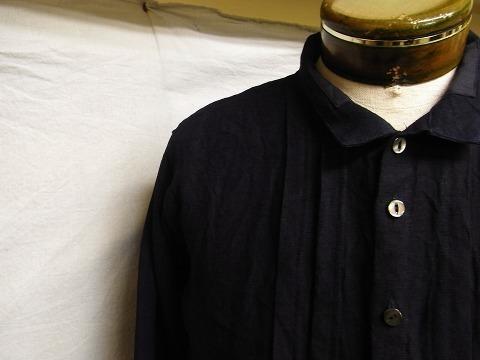 7月の製作 / french victorians heavylinen shirt_e0130546_15292540.jpg