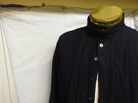 7月の製作 / french victorians heavylinen shirt_e0130546_15293911.jpg