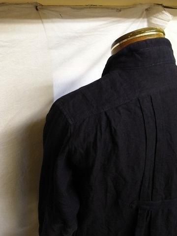 7月の製作 / french victorians heavylinen shirt_e0130546_15295357.jpg