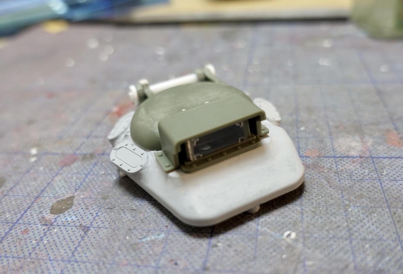アシェット 74式戦車をつくる 3_a0352357_18092841.jpg