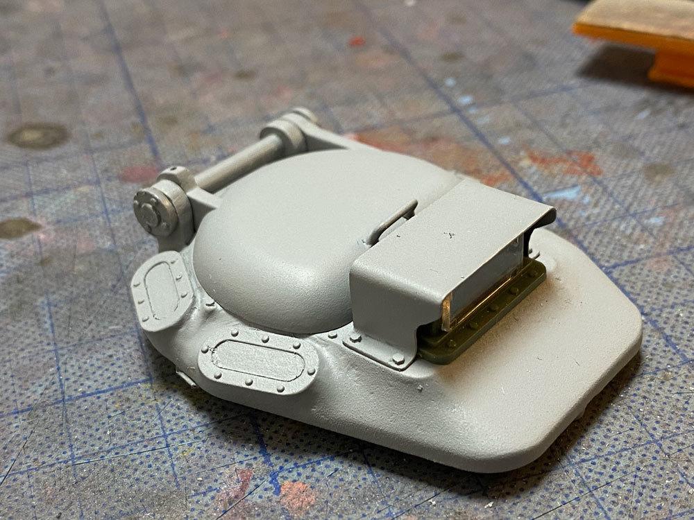 アシェット 74式戦車をつくる 3_a0352357_18093155.jpg