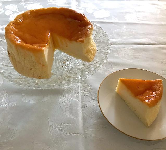 梅雨入り間近♡ふっくらスフレのチーズケーキ_e0141159_17030114.jpeg