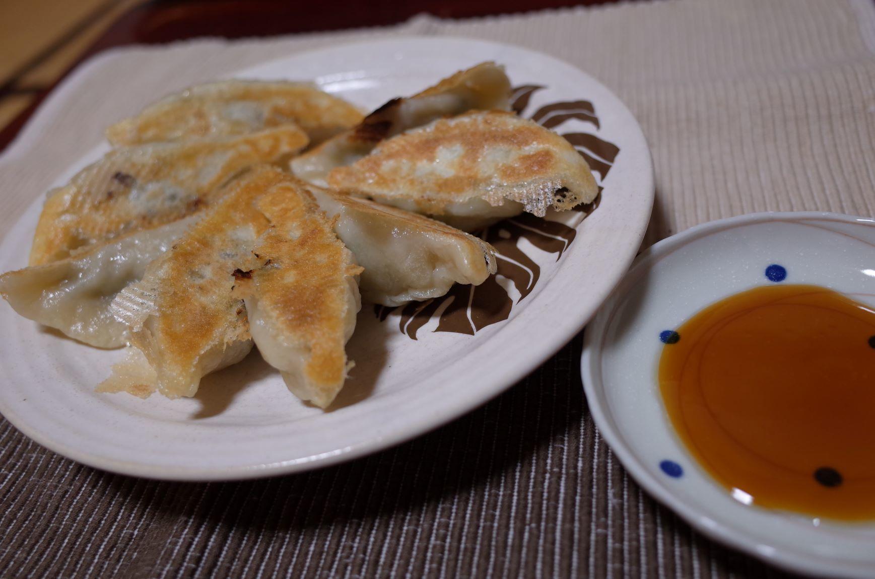 エア外食(餃子)_d0389370_14132335.jpg